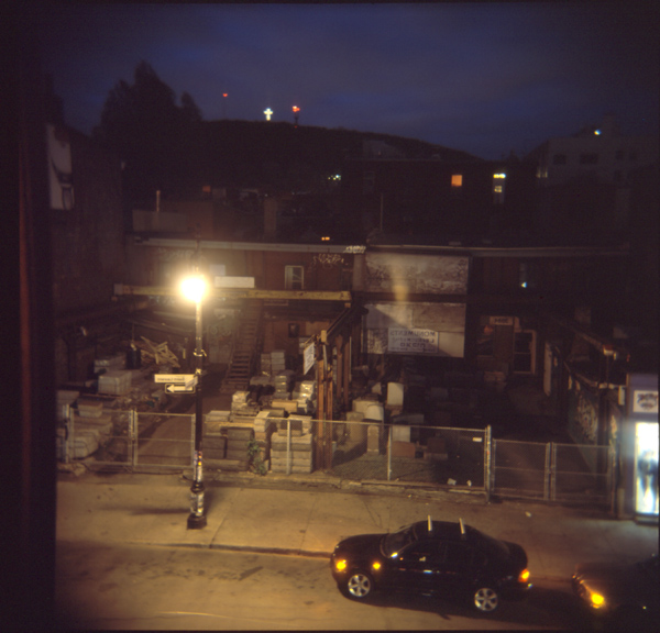 holga st laurent at night
