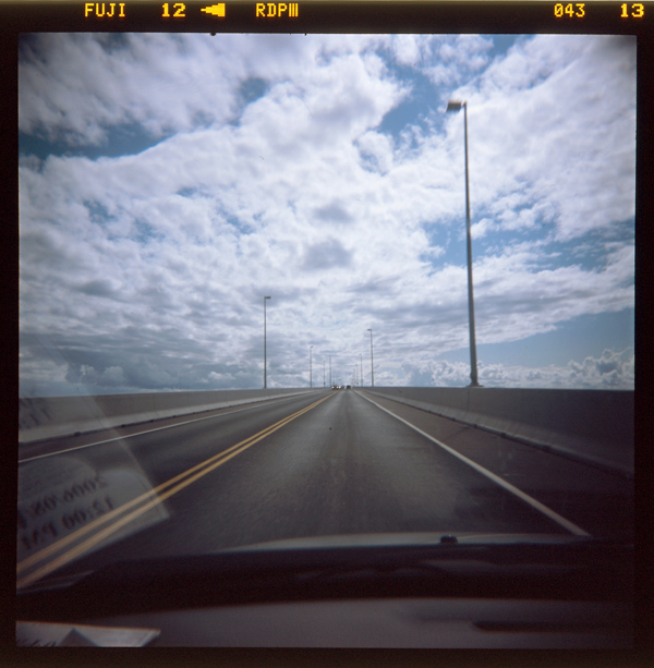 Confederation Bridge - On the way out
