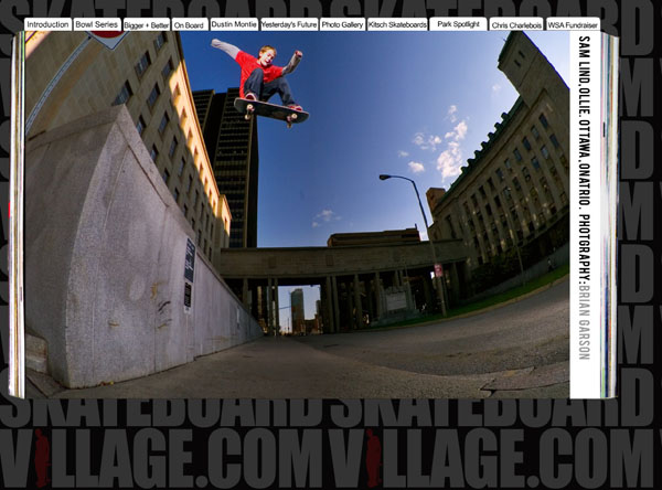 sam - skateboard village issue 1