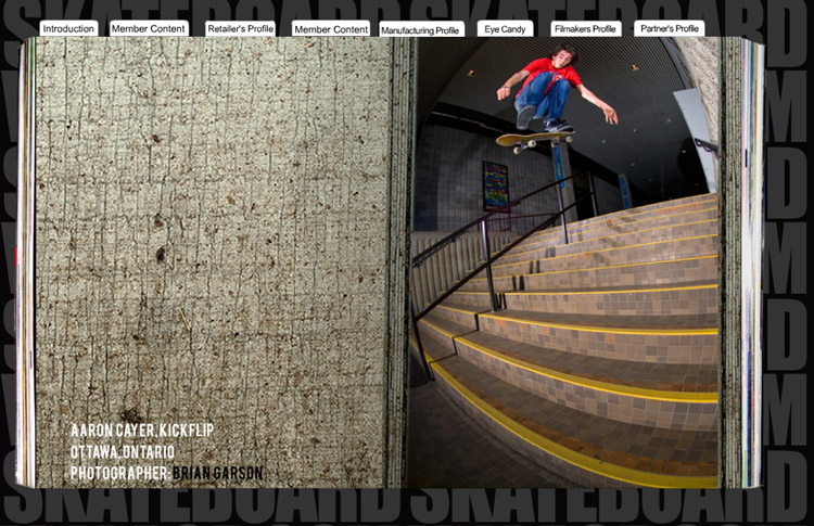Aaron - Skateboard Village Issue 2
