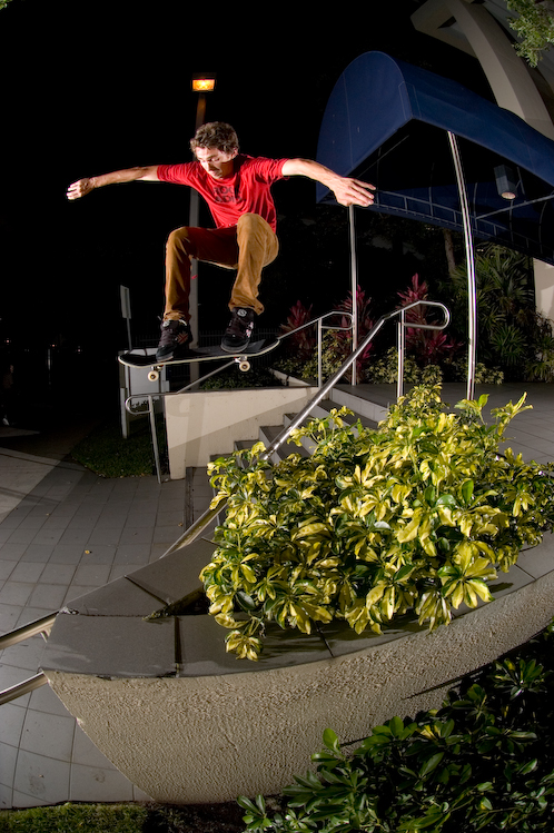 Aaron Cayer - Heelflip in Miami, Florida