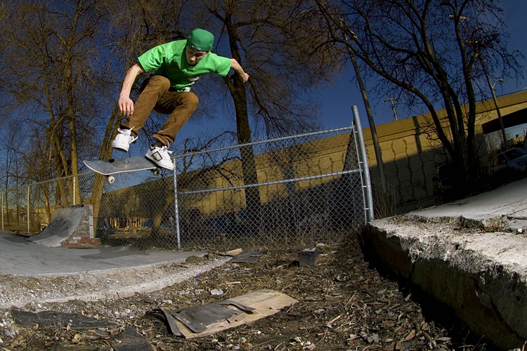 Aaron Cayer - BS flip ghetto spot