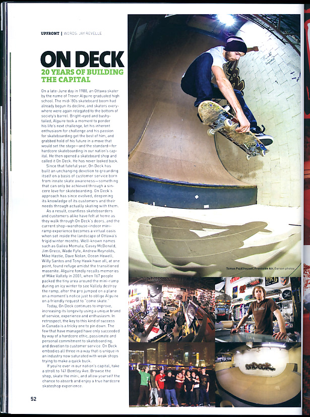 Ondeck Article - SBC Fall 2008