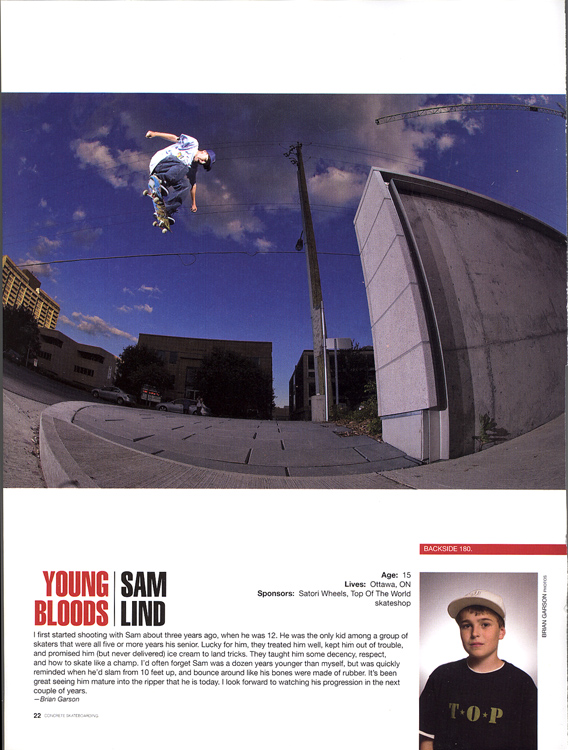 Sam Lind - Young Bloods